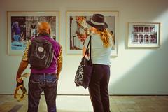 Couple @ Breda Photo (PaulHoo) Tags: couple portrait exposition breda foto faam suikerwerken color fashion carl de keyser magnum cuba la lucha candid 2016 fujifilm x70 gallery photo photography