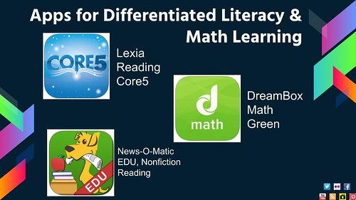 Apps for Differentiated Literacy and Mat by shellyfryer, on Flickr