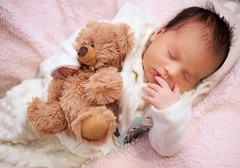 Sweet dreams (mark.aizenberg) Tags: indoor pink daughter child children portraits newborn baby cute face
