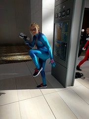 Zero Suit Samus (blueZhift) Tags: youmacon 2016 cosplay costume anime manga comics fantasy scifi detroit michigan cartoons samus crossplay