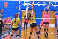 IMG_10385 (SJH Foto) Tags: girls volleyball high school lampeterstrasburg lampeter strasburg solanco team tween teen east teenager varsity net battle spike block action shot jump midair