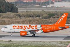 Easy Jet A319-111 G-EZIW (José M. Deza) Tags: 20161120 a319111 airbus bcn easyjet elprat geziw lebl linatefumicino planespotting spotter aircraft