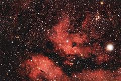 Nebel um Gamma Cygni (astroaxel) Tags: spanien andalusien canillas finca caliente gasnebel nebel dunkelwolke milchstrase