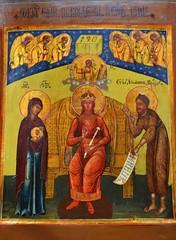 Christ as Wisdom (bobosh_t) Tags: iconexhibit icons iconography orthodoxy easternorthodoxy icon