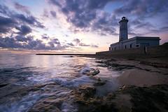 Lighthouse (Massimo Tolardo) Tags: farodisancataldo salento sea seascape sunrise alba puglia italy mare paesaggiomarino