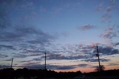 SigmaDP1X Twilight  Afterglow Sky at Toke Station () (tostomo) Tags: sigmadp1x twilight  afterglow sky