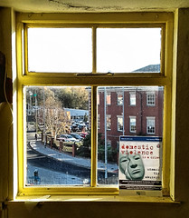 """Perhaps tomorrow will a better day ? (CJS*64 """"Man with a camera"""") Tags: window lookingout sunshine hope social cjs64 craigsunter cjs mobile mobilephone samsung samsungj3 work"""