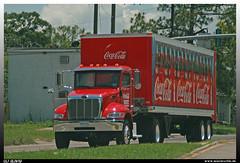 "Peterbilt 337 ""Coca Cola"" (uslovig) Tags: peterbilt 337 coca cola bottle bottels flasche flaschen koffer auflieger box trailer bottling company baton rouge la louisiana usa 801 800 truck lorry camion lkw laster lastwagen lastkraftwagen hauber conventional"