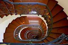 Staircase (annalisabianchetti) Tags: staircase stair indoor architecture building spiral