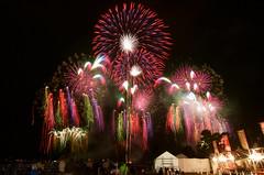 第4回九州一花火大会 The 4th Fireworks Festival in Kyusyu (ELCAN KE-7A) Tags: 日本 japan 長崎 nagasaki ハウステンボス htb huis ten bosch 花火 fireworks 九州一 kyushu ペンタックス pentax k−5ⅱs 2016 スターマイン starmines