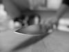 Got the Point? (MacroMarcie) Tags: 365 project365 knife knives sharpening sharp tip selfie self x20 fuji macromarcie bokeh