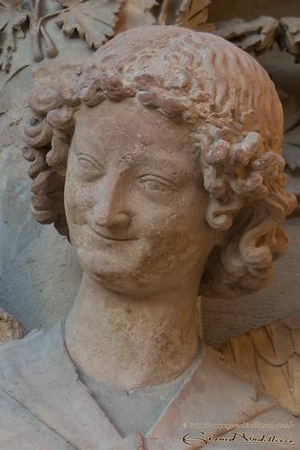 Portrait de l'ange au sourire
