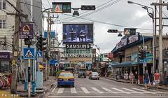 Walking Street (PattyGloss) Tags: thailand pattaya walkingstreet beergarden beachroad buri chon taxi