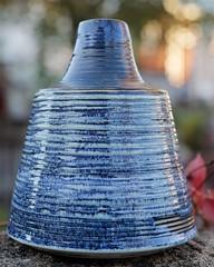 Vase (E Rabeck) Tags: ceramics stuart rabeck blue