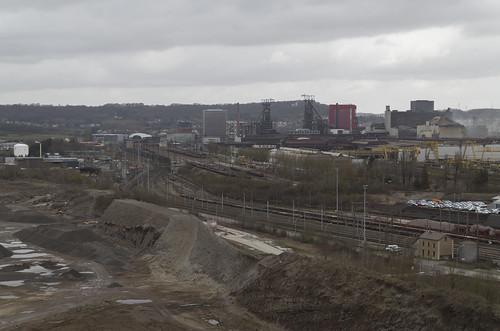 View to Esch-Belval, 01.03.2015.