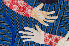 DUI_8180r (crobart) Tags: world treads festival oakville cloth fabric fibre textile art artwork