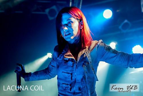 Lacuna Coil @ Biebob 21102016