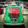 Fiat taxi... (Magali Ferre Gabrigs) Tags: nikon nikond750 50mm car oldcar green red voiture vieillevoiture verte vert roue cocacola taxi fun coke véhicule italie italia