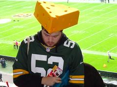 034 (jackwills95) Tags: nflfans packers cheesehead london internationalseries wembley
