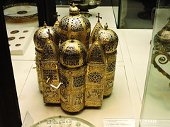 Perfume burner in shape of domed building, St. Mark's Treasury, Basilica di San Marco, Venice