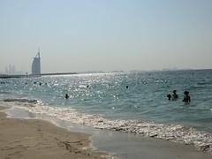 Dubai beach (Sarina-chan) Tags: dubai beach burjalarab