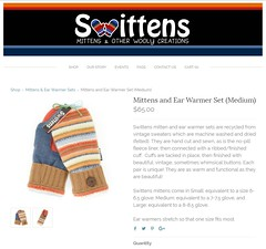Swittens.com (Steve Gifford - IN) Tags: swittens swittenscom wool mittens sweaters recycled upcycled used old infinity scarf ear warmer pat patricia gifford oxford ohio oh product photography steve steven light box carboard