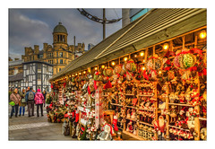 Christmas Markets, 2016 (Kevin, from Manchester) Tags: building canon1855mm christmasmarket citycentre colorfull england hdr kevinwalker lancashire manchester northwest outdoor photoborder