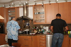 Alfredo & Ori Prepare Dinner (milt harris) Tags: family miami ori regojos sivans