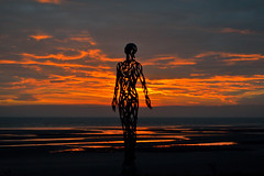 Morning Silhouette (cathalgibbons) Tags: silhouette laytown ire meath december ireland coastal coast beach sea seascape