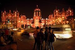 Orange the World 2016 - India - Mumbai - Chatrapati Shivaji Terminus (UN Women Gallery) Tags: 16days evaw orangetheworld orangeday activism unwomen genderequality violence sayno unite violenceprevention mumbai maharashtra india