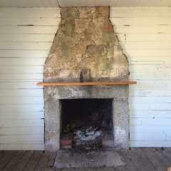 Eddystone Point. Fireplace.