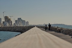 Tel Aviv Pier (shaharcohen1) Tags: tel aviv israel pier coast shore sea