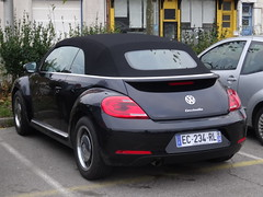 2016 Volkswagen Beetle Cabriolet (harry_nl) Tags: france 2016 volkswagen beetle cabriolet coccinelle dunkerque