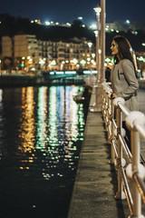 Nagore - Sesin en Bilbao (TheGens) Tags: bilbao fotografiabilbao fotografosbilbao fotografosenbilbao foto fotografialarioja fotografoscantabria fotografoslarioja fotografiacantabria euskadi sesionesbilbao retrato people session reportajesbilbao theguens love model couple photography portrait paisvasco urbanportrait night city