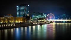 Colourful world (henrik_thiele) Tags: kln cologne langzeitbelichtung long exposure colourful bunt nightshot nachtfotografie