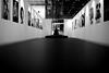 At the exhibition (pascalcolin1) Tags: paris12 exposition exhibition photos homme man photoderue streetview urbanarte noiretblanc blackandwhite photopascalcolin