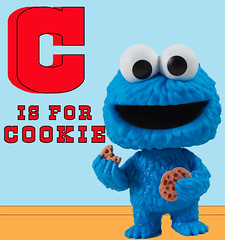 Cookie Monster (LegionCub) Tags: funko pop sesamestreet muppet monster chocolatechipcookies song icon blue toy actionfigure television minifigs