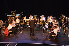 Training Band in Action after the Interval