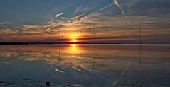 kk107 Sunset Spieka-Neufeld (jezebel_cux) Tags: nordsee niedersachsen spiekaneufeld sonnenuntergang