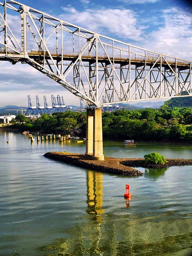 Bridge of the Americas OR Puente de las Américas OR Thatcher Ferry Bridge - Panama 23