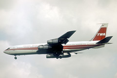 N775TW Boeing 707-331B TWA Trans World Airlines (pslg05896) Tags: n775tw boeing707 twa transworldairlines lhr egll london heathrow