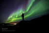 My very First Aurora (l3v1k) Tags: ifttt 500px sky city night light shadow man stars lightning norway long exposure aurora finger iceland over guiding from top pointing borealis discover northern lights success leadership heading succeed