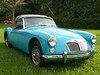 MG MGA 1600 Convertible ´61 Verdeck foto by auctionamerica.com