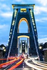 Clifton suspension bridge (Phil Saunders) Tags: longexposure bridge trails brunel