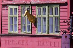 Bryggen Handel (ati sun) Tags: norway norwegen bergen bryggen