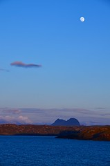 Twilight. (fastcat!) Tags: scotland may sutherland suilven 2014 assynt culkein