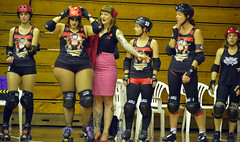 Pirate City Rollers Presents This Means war (Peter Jennings 18.8 Million+ views) Tags: new city girl this slam dangerous war all curves mount peter auckland zealand presents pirate nz roller vs rollers pivot militia jam derby means jennings blockers jammers bout broadside brawlers