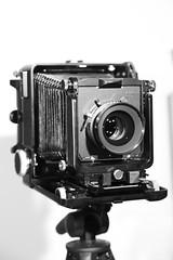 wista 45vx with nikon 180 (Dan Idoine) Tags: camera old film field metal japanese nikon view large oldschool 45 retro full 180 pro 4x5 lf format analogue 56 vx wista flickrandroidapp:filter=none
