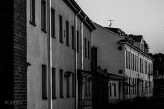 Early morning (AJo58Photo) Tags: old city morning summer blackandwhite house building sunrise construction sweden oldhouse sverige oldbuilding hus stad jnkping sommar soluppgng morgon gammal konstruktion svartvitt byggnad gammalthus gammalbyggnad nikond5200