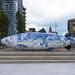 THE BIG FISH NEAR THE LAGAN WEIR - PUBLIC ART IN BELFAST CITY